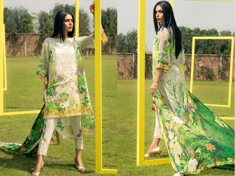 0b8c75f999 Mausummery Lawn 2018 Summer Collection Vol 2 With Price - YouTube