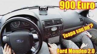 Verificam si cumparam un Ford Mondeo la doar 900€ Teapa sau NU ?