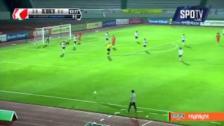 2015 K리그 챌린지 24R 강원FC vs 경남FC 하이라이트