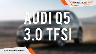 Гбо на Audi Q5 3.0 TFSI CTUC. Первая в Украине. Газ на Ауди Q5 3.0 ТФСИ - Випсервисгаз Харьков.