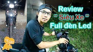 Review Xe Sirius Fi - Full Led - Xe Ôm Vlog