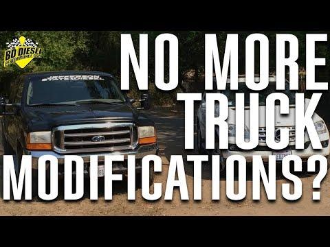 No More Truck Modifications?