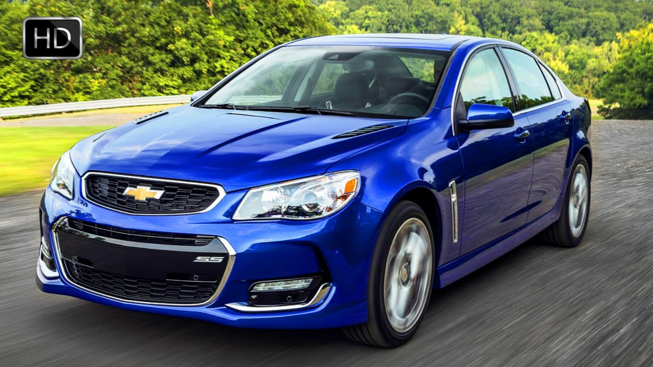 2016 Chevrolet SS Sports Sedan 4-Door 6.2L V8 415 HP Test Drive HD - YouTube