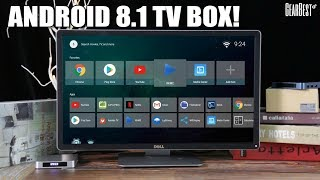 Android 8.1 TV Box SCISHION AI ONE - GearBest