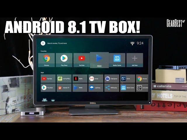 SCISHION AI ONE Android 8 1 TV Box