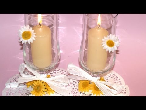 Centro de mesa con copa diy glass centerpiece youtube - Centros de mesa para casa ...