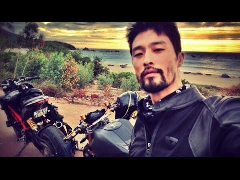 Johnny Trí Nguyễn bị tai nạn ở Quy Nhơn - Bình Định, xe môtô 400 triệu đồng vỡ nát