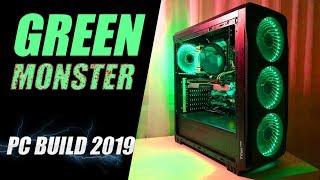 GREEN MONSTER l PC BUILD 2019 l INTEL XEON E5 2650 V2 + GTX 1070