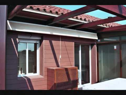 Cerramientos con madera de terrazas ticos y bajos for Terrazas cerradas con madera