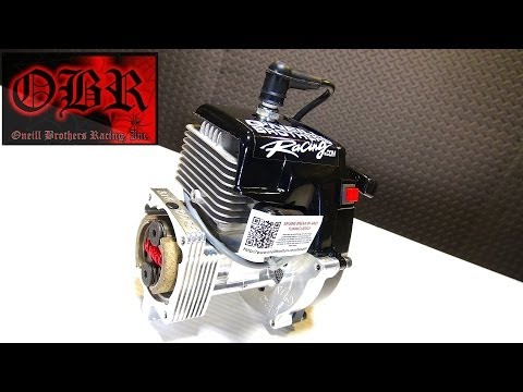 RC ADVENTURES - OBR 9.7hp Full Mod 38cc WiDOWMAKER Gas Engine - Mesh Mod & Kill Switch Install