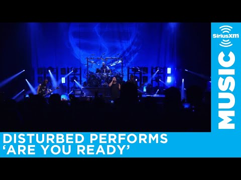 Disturbed performs Are You Ready for SiriusXM in Chicago