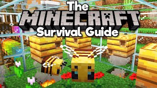 Bees, Bee Nests, Hives, & Honey! ▫ The Minecraft Survival Guide (Tutorial Let's Play) [Part 269]