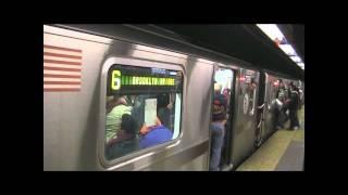 MTA 6 Train at 59th Street goïng down town Manhattan