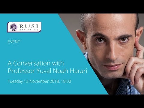 A Conversation with Professor Yuval Noah Harari