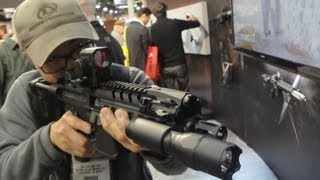 2013 Shot Show SIG new MPX Submachine Gun & Official Product release Video