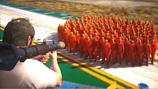 【GTA5】100人同時に死刑執行する16の方法 / HOW TO KILL 100+ PEOPLE AT THE SAME TIME thumbnail