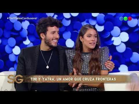 ¿Qué fue lo primero que le molestó a Tini de Sebastián Yatra? - Susana Gimenez 2019