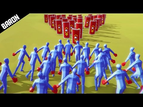 The INVINCIBLE Formation  (Totally Accurate Battle Simulator)