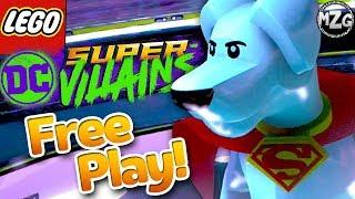 LEGO DC Super Villains Gameplay Walkthrough - Free Play Episode 7 - Wayne Manor!