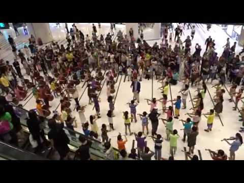 MYO Flash Mob on 2017-06-18 at HK Maritime Square