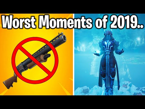Fortnite: TOP 10 WORST MOMENTS of 2019! (trigger warning)