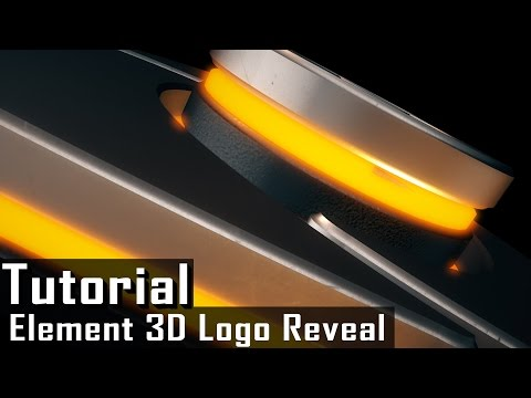 Tutorial | Element 3D Logo Reveal  | After Effects