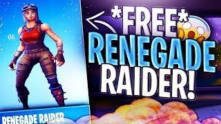 How to get RENEGADE RAIDER For FREE in Fortnite!?