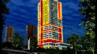Архитектурная подсветка ЖК