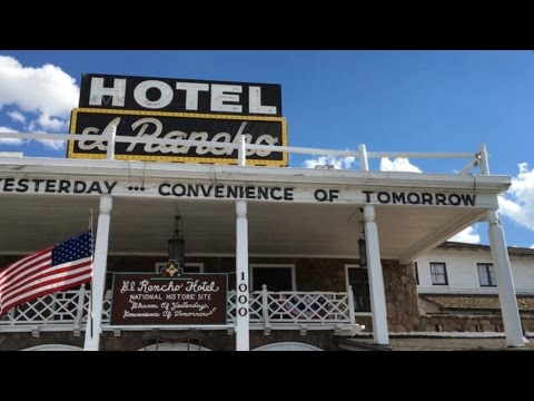 Tour of the Legendary El Rancho Hotel Motel : Gallup, NM