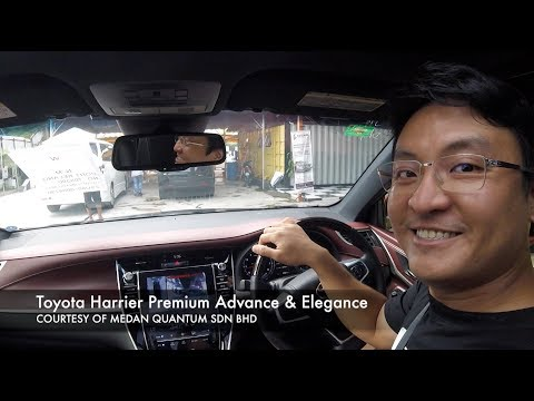 Toyota Harrier | 2017 Evo Malaysia com Full In Depth Review
