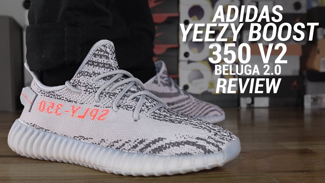 watch a1a75 4ebd9 ADIDAS YEEZY BOOST 350 V2 BELUGA 2.0 REVIEW