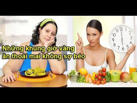Những khung 'giờ vàng' chị em ăn bao nhiêu cũng không sợ béo