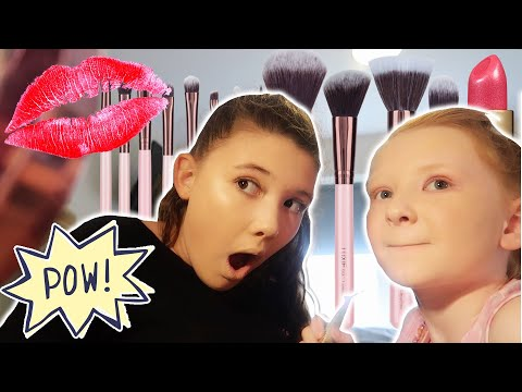 SISTERS FULL FACE OF MAKEUP TRANSFORMATIONS! thumbnail