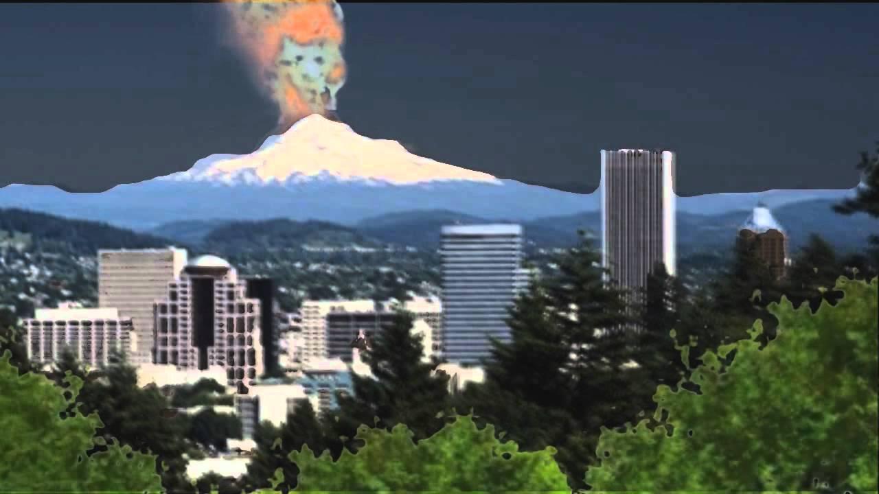 MT HOOD VOLCANO ...V Is For Volcano