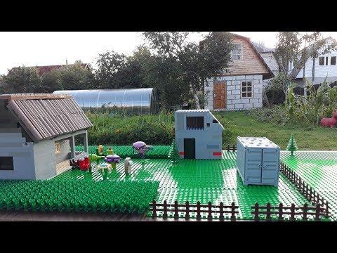 Лего проект в реальной жизни - real life pvz Chomper minecraft