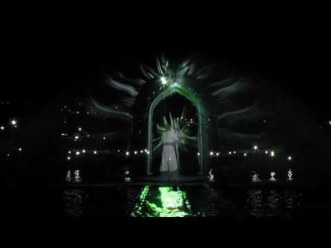 Самый крупный фонтан центральной Украины открыли в Умани