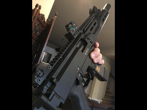 CZ Scorpion EVO 3 S1 Carbine Slide Disassembly and Re-assembly