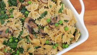 One Pot Creamy Mushroom Pasta | Easy Weeknight Dinners