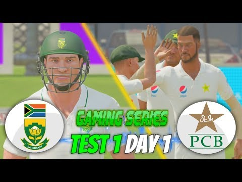 PAKISTAN (PGE) TOUR OF SOUTH AFRICA (GAMING SERIES) - 1ST TEST DAY 1 - DON BRADMAN CRICKET 17