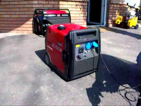 Генератор Хонда, 2000 ватт. Generator Honda EU2000i - YouTube