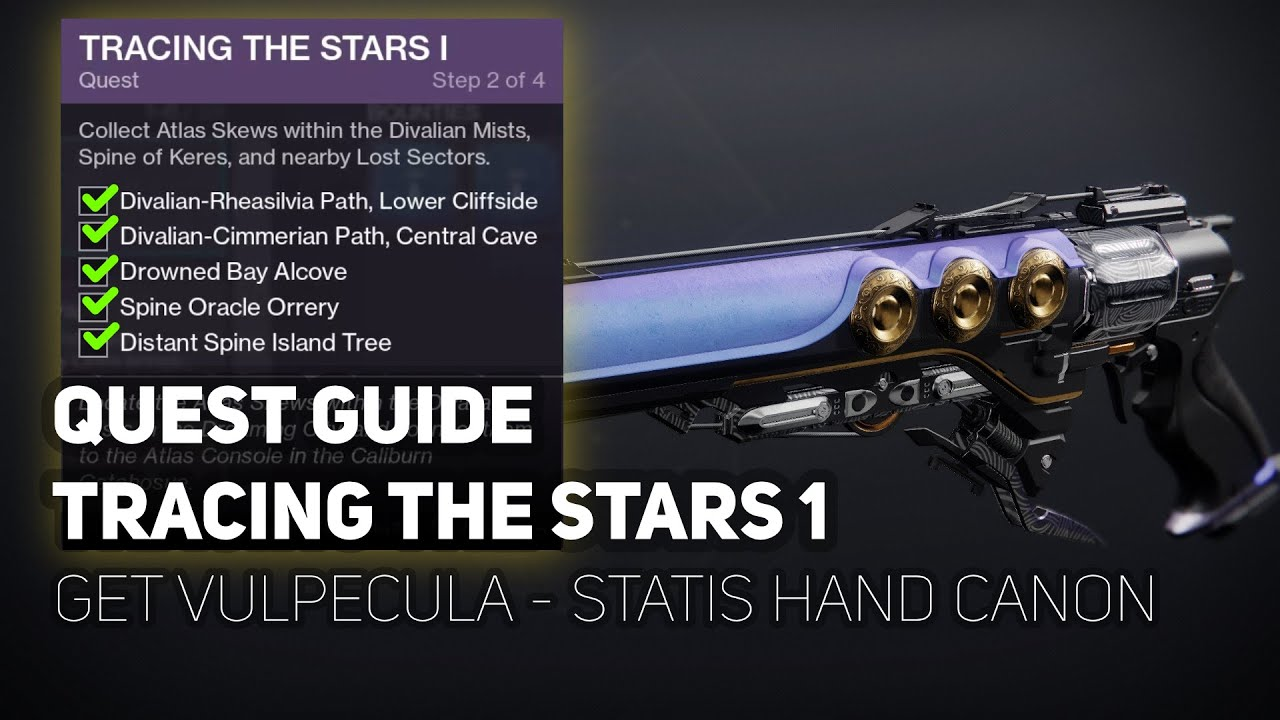 Destiny 2: How to begin Tracing the Stars and get the Vulpecula ...