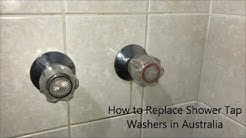How to Replace Shower Tap Washers - Australia