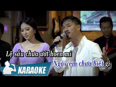 [KARAOKE] Ngày Buồn - Quang Lập & Kim Yến