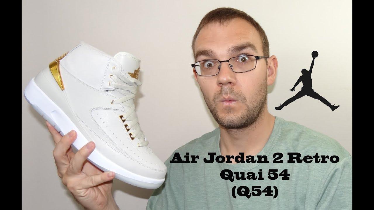 Air Jordan 2 Retro Quai 54 (Q54) Review - YouTube 0d41f987d