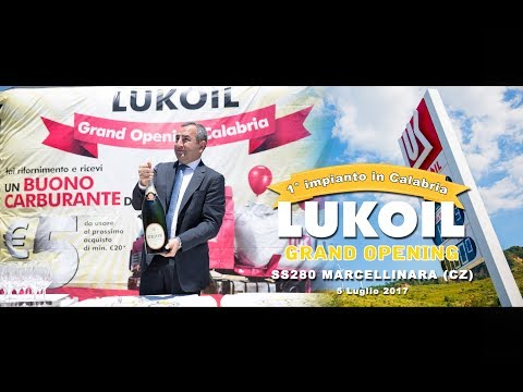 LUKOIL, Grand Opening Marcellinara (CZ) - VIDEO -