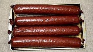 Best Deer Summer Sausage Smoked in Masterbuilt Electric Smoker