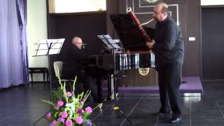 Jaques Ibert - Arabesque for bassoon and piano