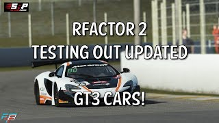 rFactor 2: Testing Upgraded GT3 Cars!