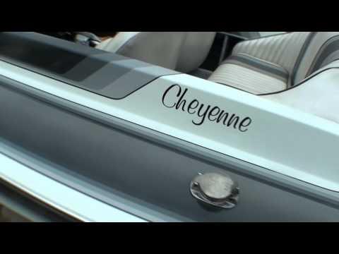 1990 Cheyenne Jet Boat