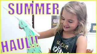 QUICK, FUN, ADORABLE KIDS SUMMER HAUL!!